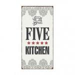 3832-five-star-kitchen-schild